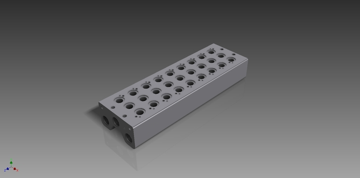 Manifold Block 1 825 503 900