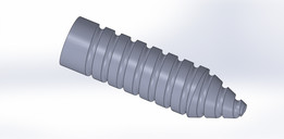 Non-Cylindrical Threads