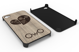 iPhone 4 - OwO Wood Cover