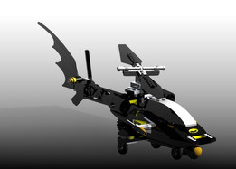 BatCopter Lego