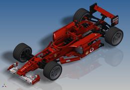 LEGO Racers - Ferrari F1 Racer 1:10 (8386)