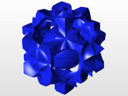 Sinusoidal Ball Creation - 3D Print Test