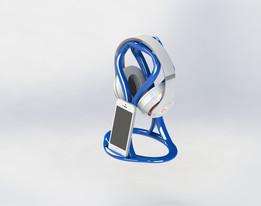 SNAKE-headphones holder