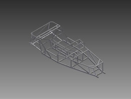 Locost style chassis