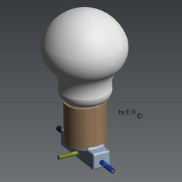 BASIC LAMP WITH SOCKET