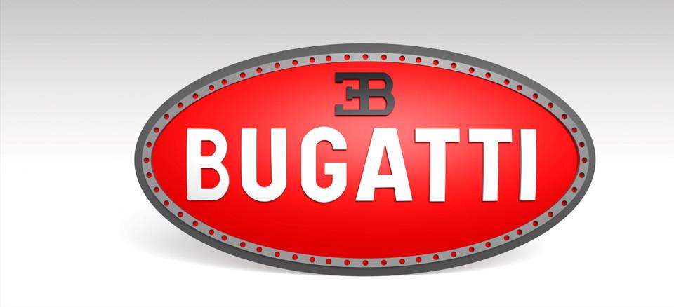 Bugatti Sports Car Logo