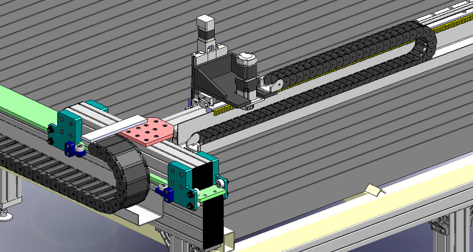 DIY CNC Plasma Cutting Machine   3D CAD Model Library ...