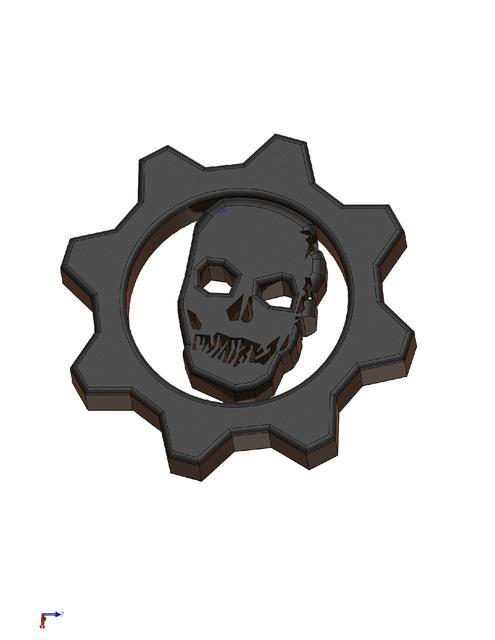 Gow logo 3d cad model library grabcad voltagebd Choice Image