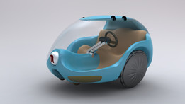 Futuristic: a Car and a Transportation System