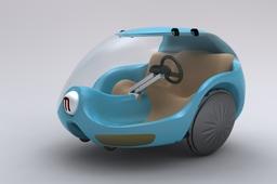 Futuristic: a Car and a Transportation System