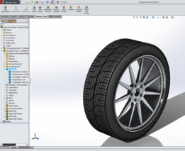 Variable dimension driven Wheel - Parametric