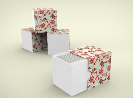 Q-Tip Decorative Box