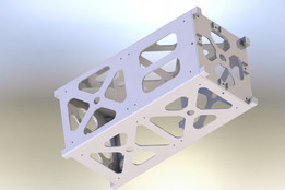 Adaptable CubeSat Structure for Additive Manufacturing