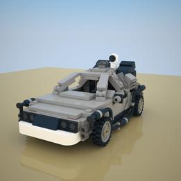 LEGO Set 21103 - Back to the Future Delorean - 2013