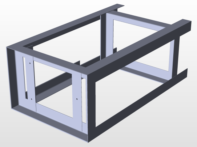 & Surface Plate Stand and Surface Plate | 3D CAD Model Library | GrabCAD