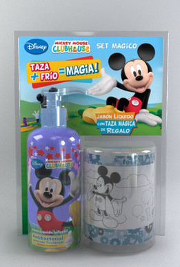 Packaging Taza + Jabon Liquido  de Leonardo Lato
