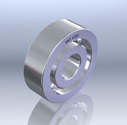 12mm Bearing SKF 6301 (RS 286-8151)