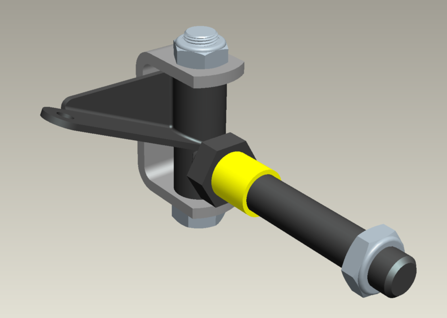 Go Kart Spindles : Spindles for a go kart cycle d cad model library