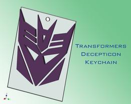 Decepticon Keychain