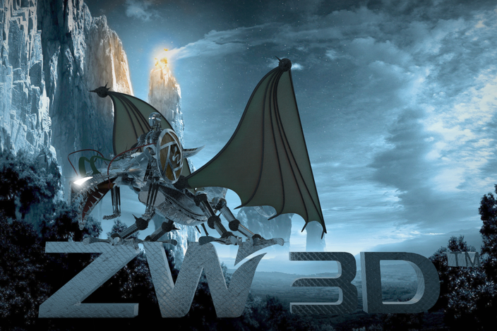 ZW3D Dragon for a hero