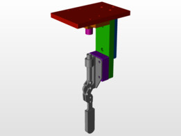 Press Assy Jig with Toggle Clamp