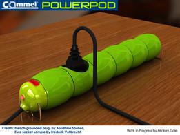 Commel powerpod
