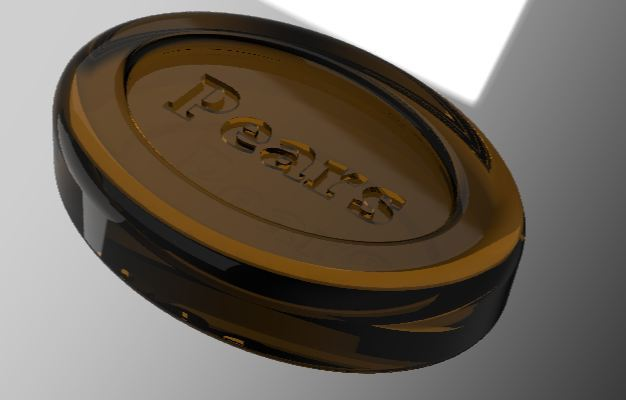 Pears Soap | 3D CAD Model Library | GrabCAD