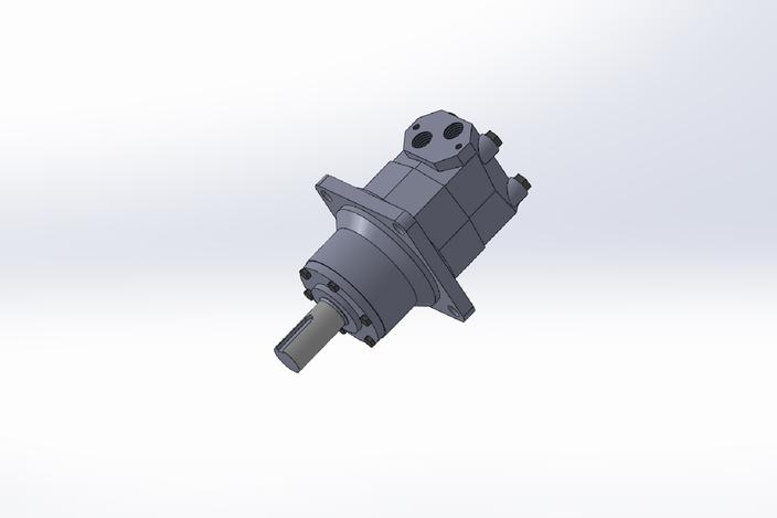 Motor Hidraulico Sauer Danfoss Omtw 500 Solidworks 3d