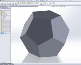 How to model a Dodecahedron from scratch