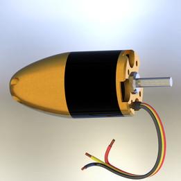 Warhead 3545-1850KV EDF Motor 90mm