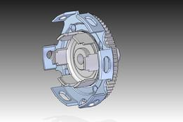 Vespa smallframe clutch