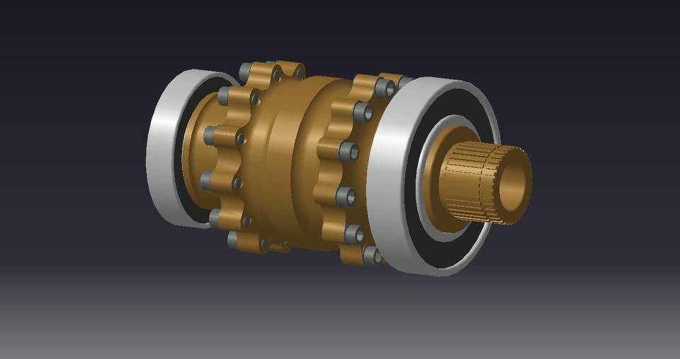 Drexler FSAE / Formula Student DIfferential | 3D CAD Model ...