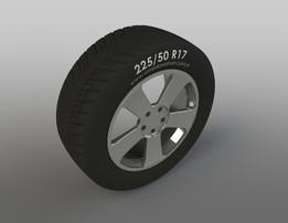 225/50 R17 RIM DESIGN - JANT TASARIMI