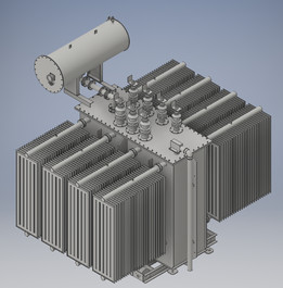 High Voltage Power Transformer for Substation