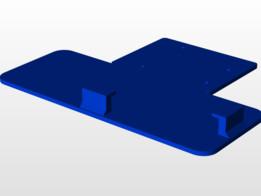 Arduino + Long Breadboard Support/Mount