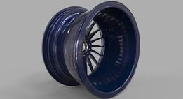 GT Wheel Rim Front LH