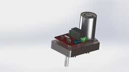 380 kg/cm high torque servo motor
