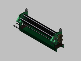 MANUAL ROLLER LAMINATOR (SHEET METAL BENDING)