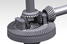 simulation of differential mechanism in CATIA V5R21