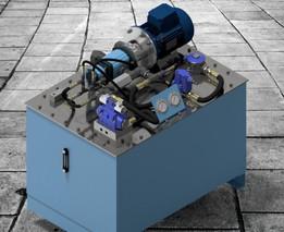 Hi Low Hydraulic system