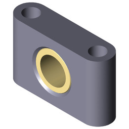 ESTM-10 Pillow block bearing