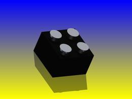 Lego square brick