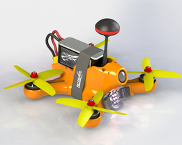 170mm FPV night racer by NHAdrian