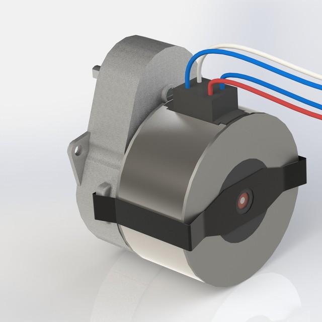 Motor Crouzet Keycreator Step Iges Stl Solidworks