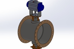 500mm Damper Valve (Butterfly)