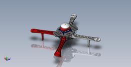 3D Printable Quad Copter Drone Frame