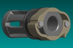NATO/Mil-Spec A2 Flash Hider QD Mount (Suppressor)