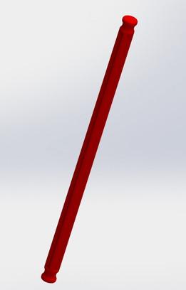 Knex Rod - Red