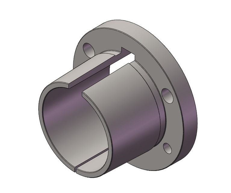 Bushing, Browning, Q1 X 2 4375 Taper | 3D CAD Model Library | GrabCAD