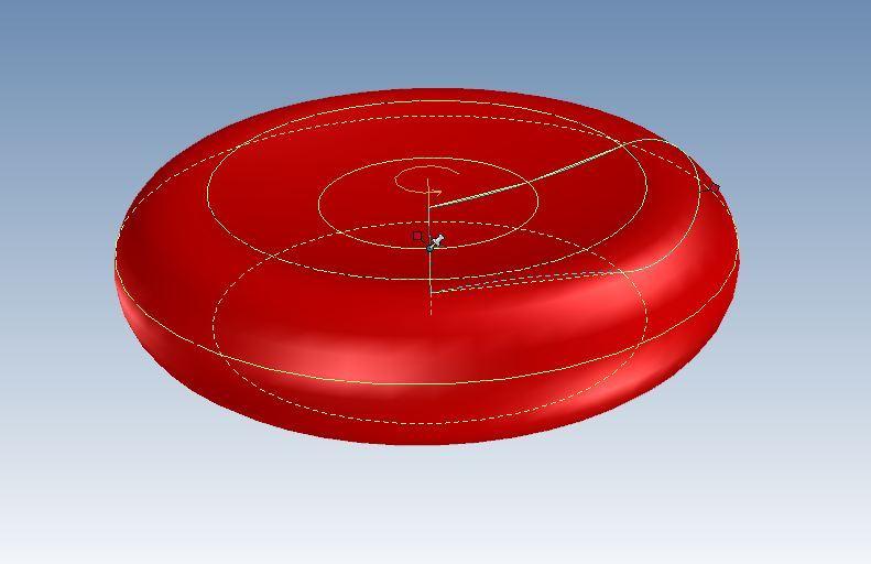 Red Blood Cellics 3d Cad Model Library Grabcad